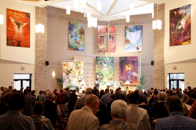 Banners all worship