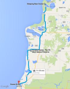 Dune Tour Map